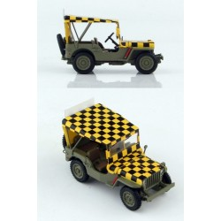 Jeep Willys USAAF 'Follow me' HOBBYMASTER 1/48 HG1612