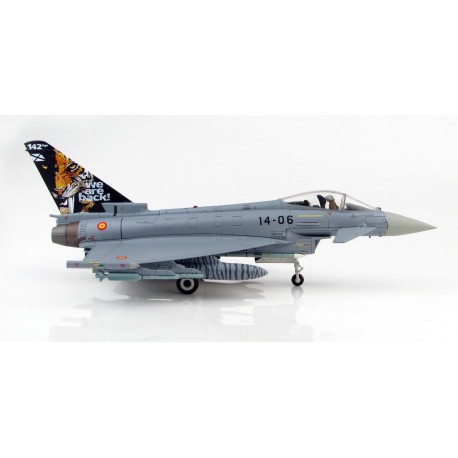 "Eurofighter Typhoon EF-2000 142 Squadron ""NATO Tiger Meet 2016"" Ejército del aire HA6603"