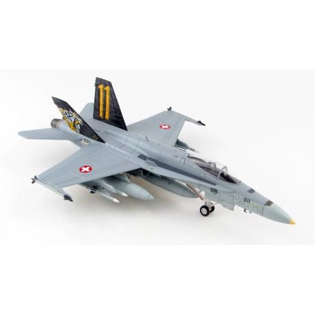 F/A-18C Hornet Staffel 11 Swiss Air Force 2020 1/72 HOBBYMASTER HA3598