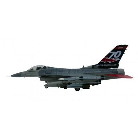 "F-16C Block 40 ""South Dakota ANG 70th Anniversary"" 2016  1/72 Hobbymaster HA3880"