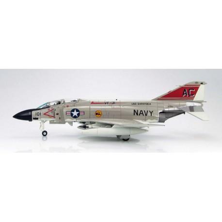 "F-4B 200, VF-111 ""Sundowners"", USS Coral Sea, 1970s HOBBYMASTER 1/72 HA19021"