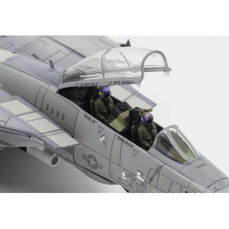 """F-14A Tomcat  """"TOP GUN""""  Red Eagle Wingman  Calibre Wings 1/72 CA72TP04"""