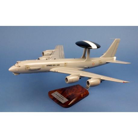 """AWACS E-3F  Armée de l´Air  EDCA 36ème Escadre """"Berry"""" BOIS 1/100"""
