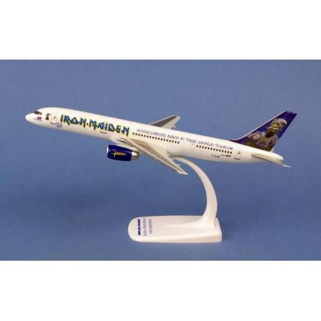 """Boeing B757-200 ASTRAEUS  """"IRON MAIDEN"""" G-STRX """"ED FORCE ONE"""" HERPA 1/200"""