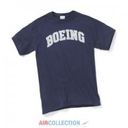 T-Shirt Boeing Varsity Navy Bleu