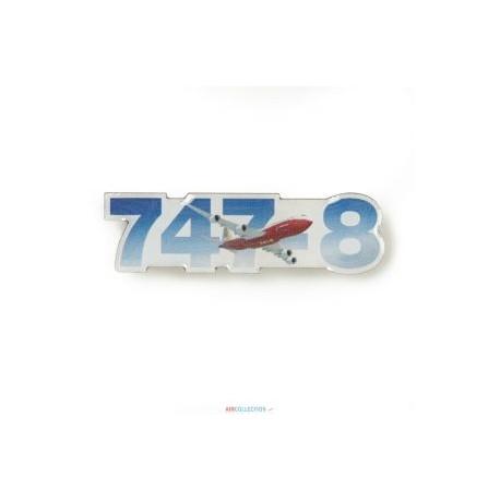 Pins Boeing 747 Sky