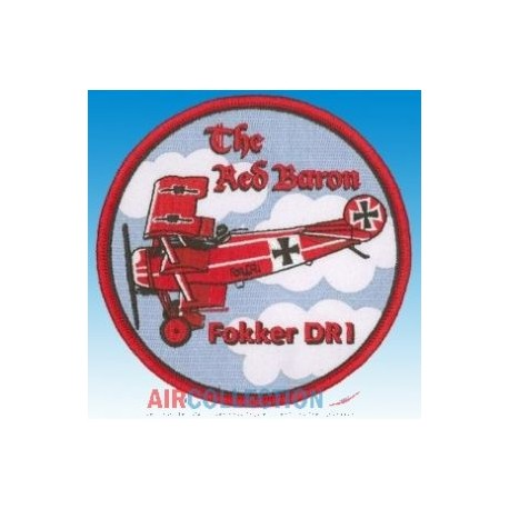 """Patch Fokker DR1 """"The Red Baron"""""""