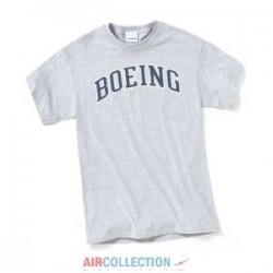 T-Shirt Boeing Varsity Athletic Gris