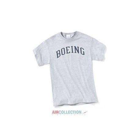 T-Shirt Boeing Varsity Athletic Gris