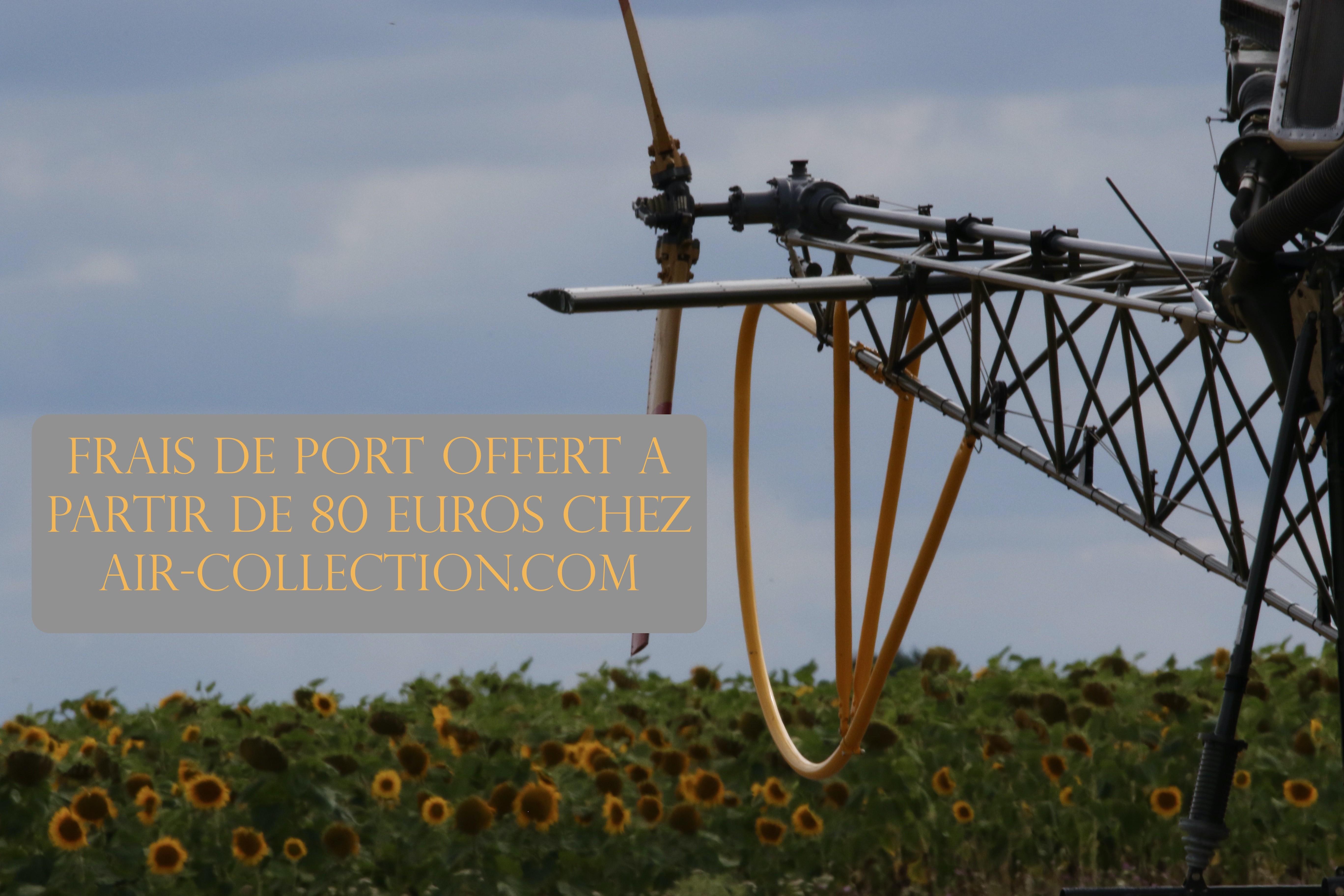Frais de port offert chez air-collection.com